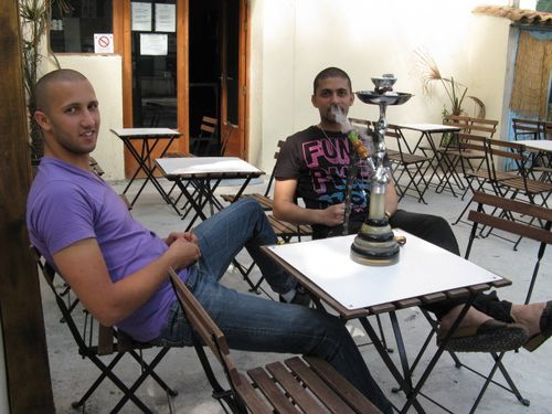 Photo 2 avec Mohamed et la shisha