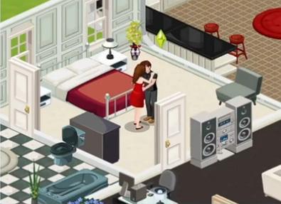 Les sims ajoutent une couche de virtuel facebook a - Jeu de cuisine virtuel ...