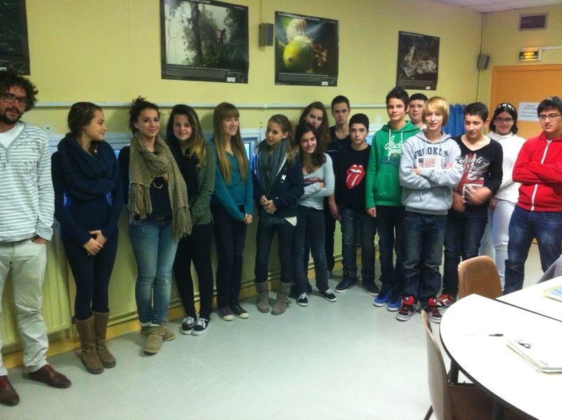 3e DP3 collège Colette Puget sur Argens