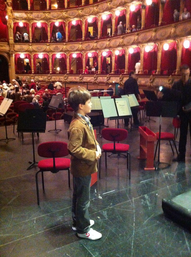 Raphaël à l'opéra