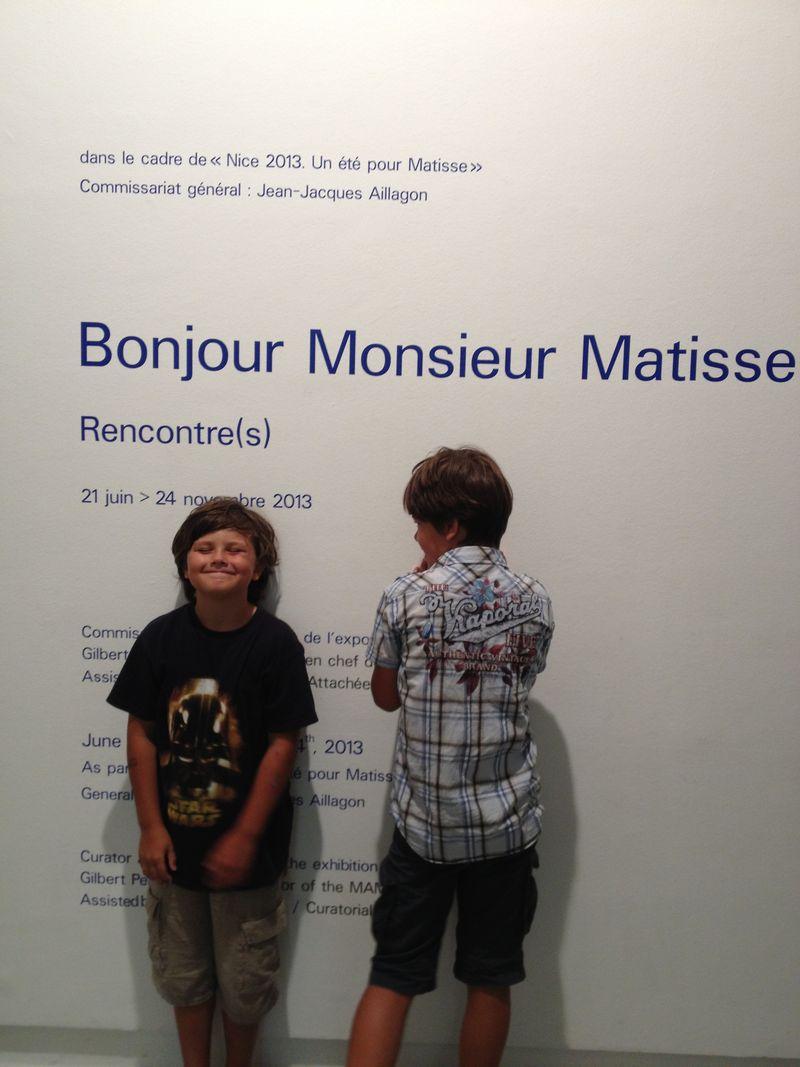 Bonjour Mr Matisse 2