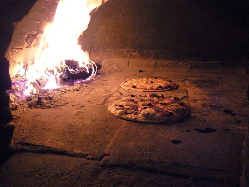 Le coin bleu Pizza cuisson