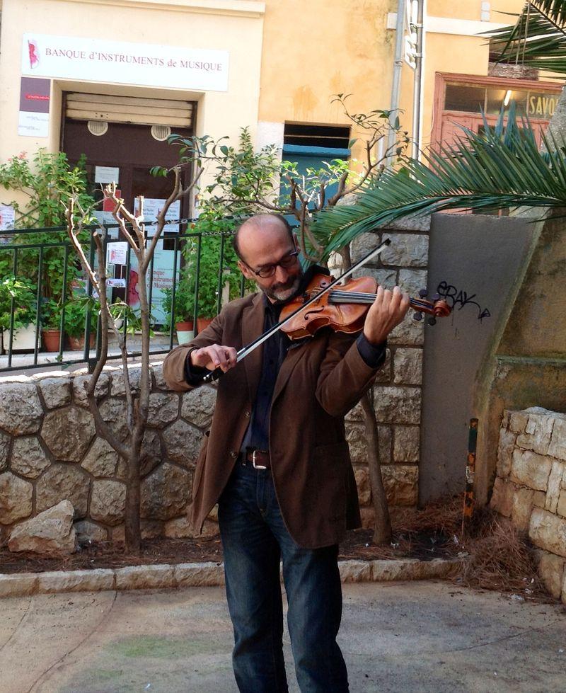 Robert Waechter, violoniste