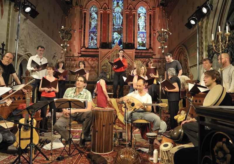 Concert musique médiévale espagnole avec Poussieres d'Exil Cannes