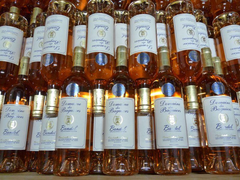VarXXQ500 Baguiers rosé