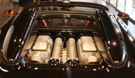 Bugatti moteur