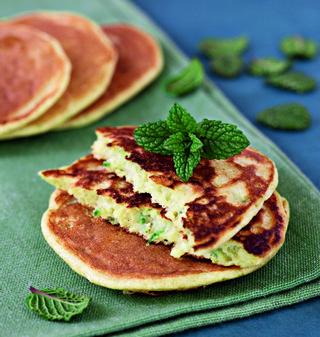 Le coin Bleu Livre Croques Recette pancakes Mango