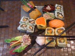 Le coin bleu clos des ros cours sushis 2