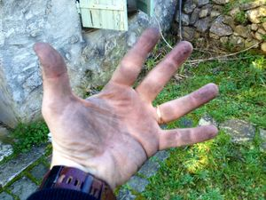 Roue main
