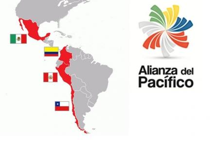 Carte Alliance du Pacifique
