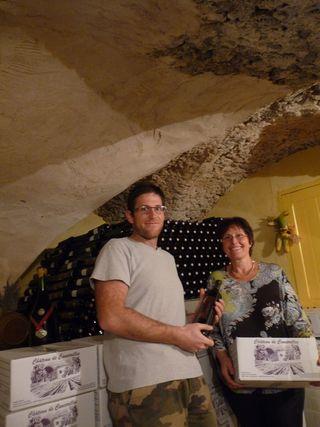 Mag Vin 29 nov Château Cancerilles Signes Mère et fils