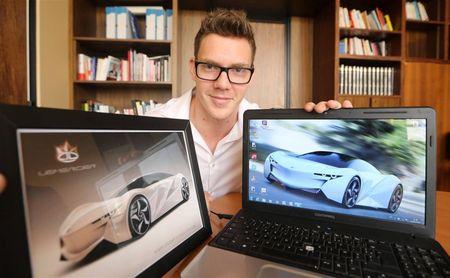 Le rêve de Jeremy Lemercier se dessine au Mondial de l'auto
