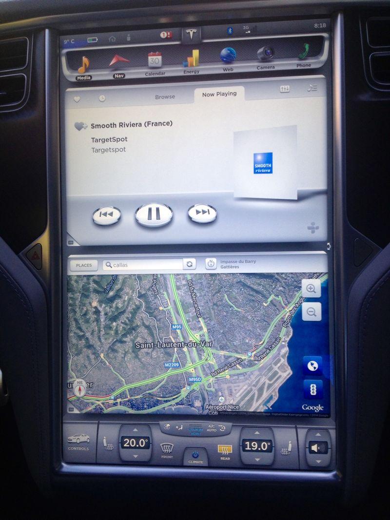 Tesla écran