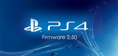 La PS4 passe en version 2.5
