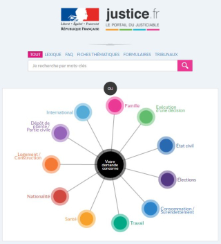Image Portail justice