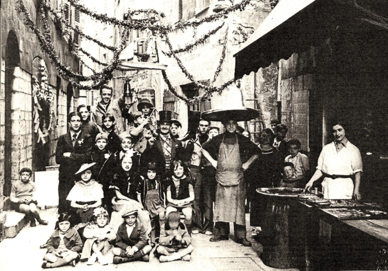 227 benvenuto fête des mai Allieri vieux Nice 1939