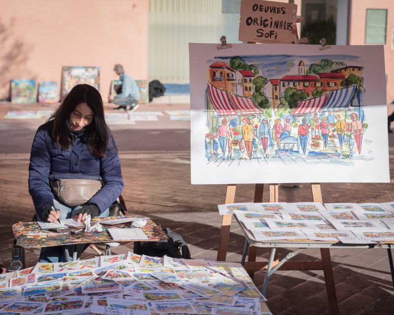 Visages du Vieux Nice : Sofi